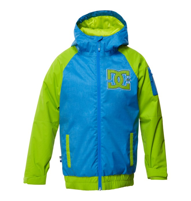 0 Boy's  Troop Snow Jacket Blue EDBTJ00008 DC Shoes