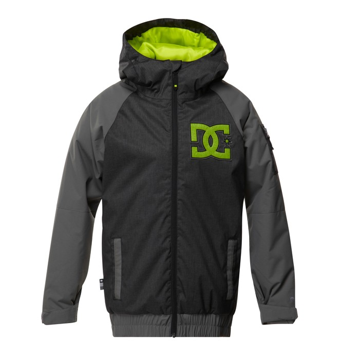 0 Boy's  Troop Snow Jacket Black EDBTJ00008 DC Shoes