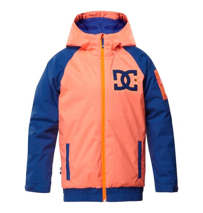 0 Boy's  Troop Snow Jacket Orange EDBTJ00008 DC Shoes