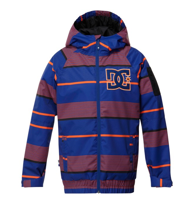 0 Boy's  Troop Snow Jacket Orange EDBTJ00008 DC Shoes