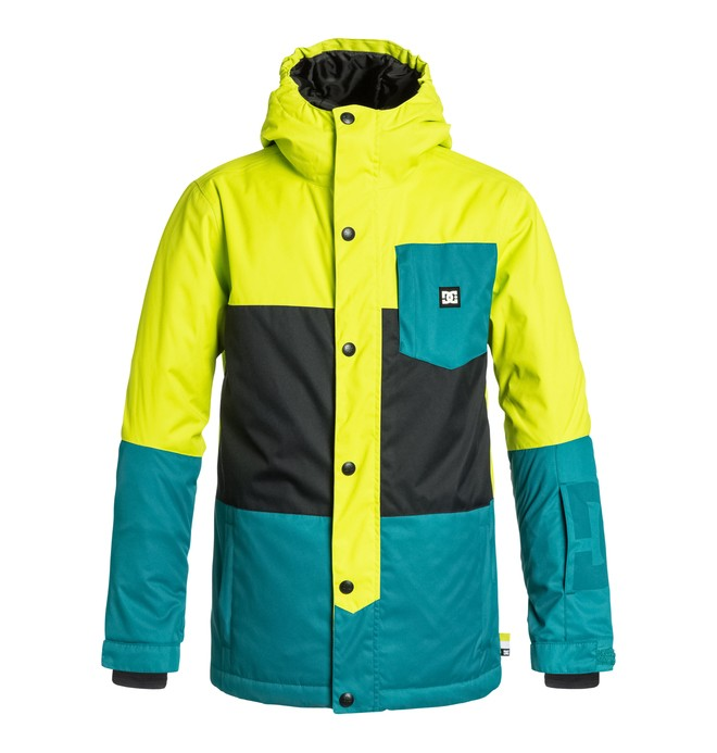 0 Boy's Defy Snow Jacket  EDBTJ03003 DC Shoes