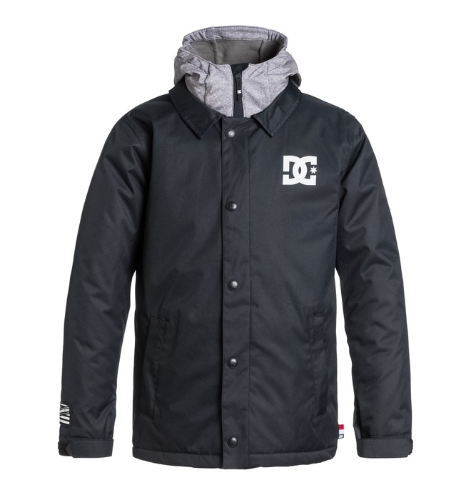 0 Boy's Cash Only Snow Jacket  EDBTJ03006 DC Shoes