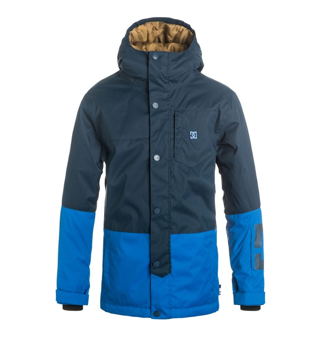 0 Defy - Snow Jacket Blue EDBTJ03013 DC Shoes
