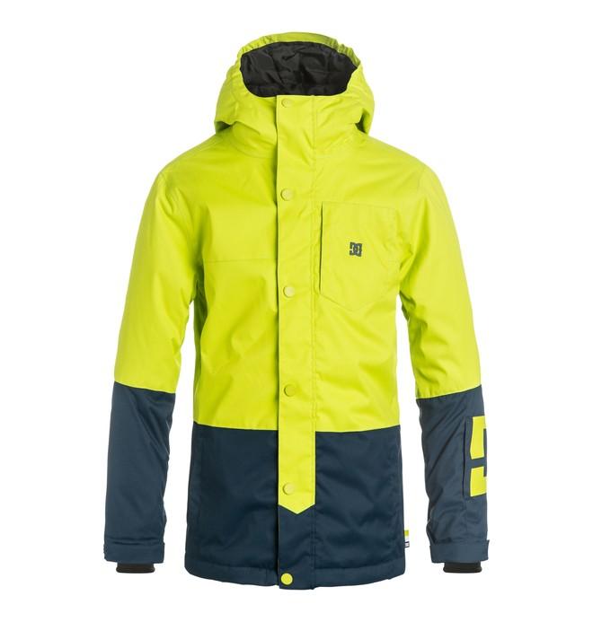 0 Defy - Snow Jacket Green EDBTJ03013 DC Shoes