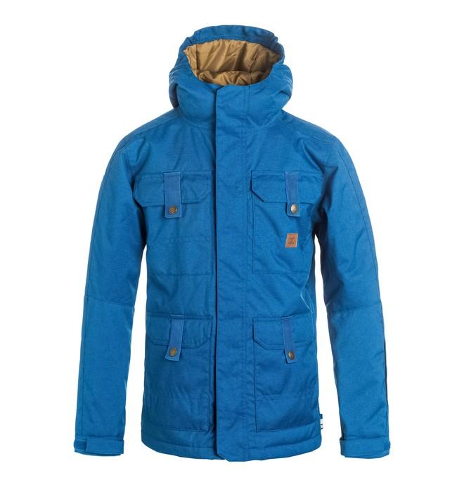 0 Servo - Snow Jacket Blue EDBTJ03014 DC Shoes