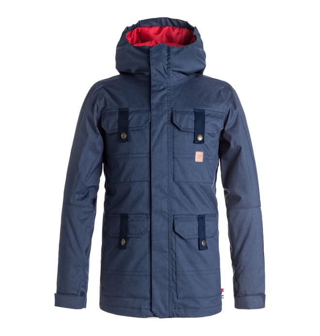 0 Servo - Snow Jacke Blau EDBTJ03017 DC Shoes