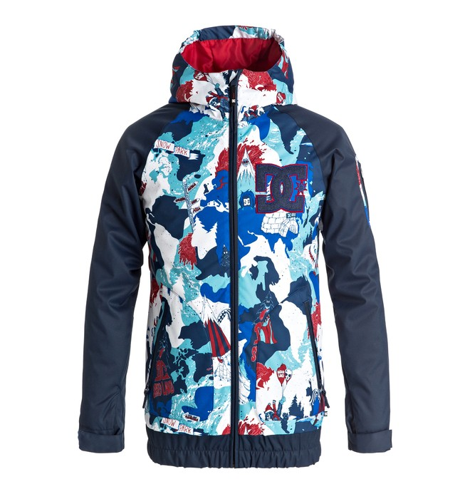 0 Troop - Veste de snow Bleu EDBTJ03019 DC Shoes