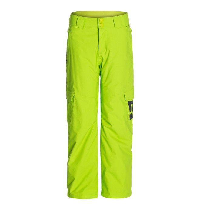 0 Boy's  Banshee K 15 Snow Pants Green EDBTP00001 DC Shoes