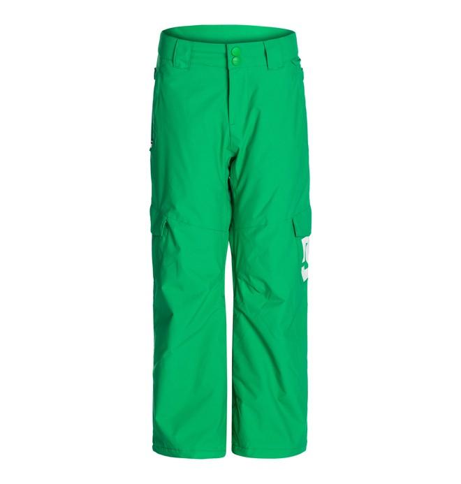 0 Boy's  Banshee K 15 Snow Pants Green EDBTP00001 DC Shoes
