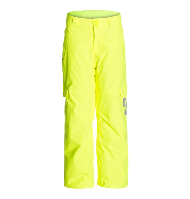 0 Boy's  Banshee K 15 Snow Pants Yellow EDBTP00001 DC Shoes