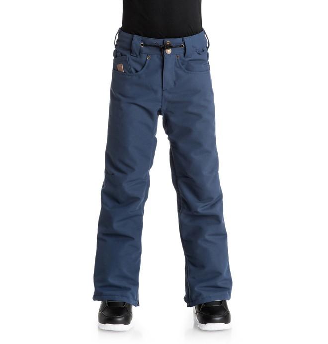 0 Relay - Snow Pants Blue EDBTP03004 DC Shoes