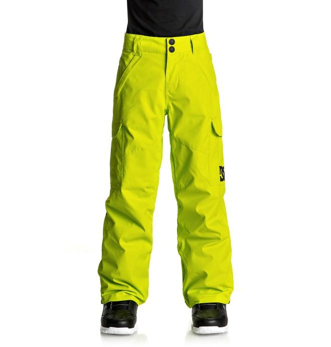0 Banshee - Snow Pants Green EDBTP03006 DC Shoes