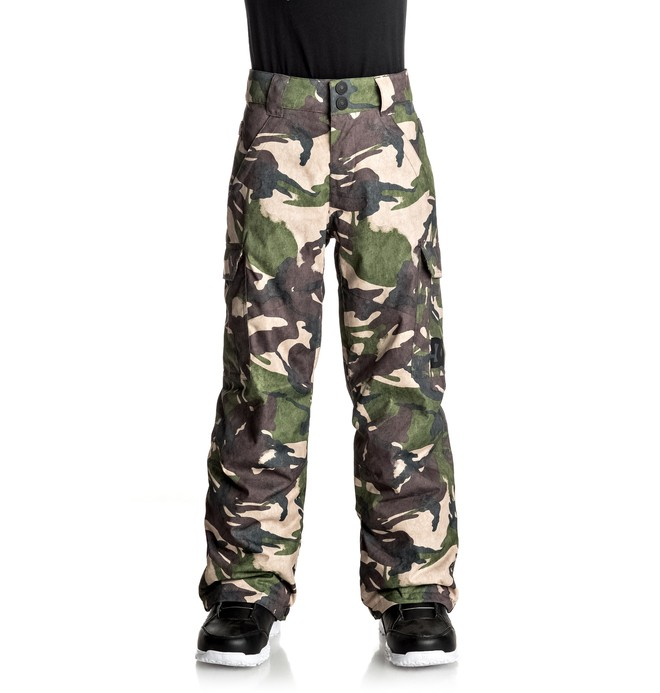 0 Boy's 8-16 Banshee Snow Pants Green EDBTP03006 DC Shoes