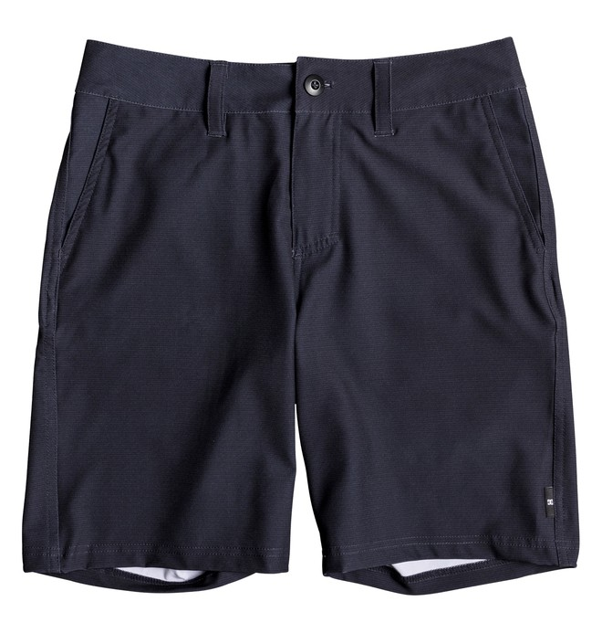 "0 Base Camp 17"" - Amphibian Shorts Blue EDBWS03049 DC Shoes"