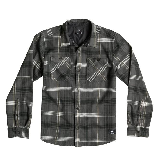 0 Vibration - Long Sleeve Flannel Shirt  EDBWT03005 DC Shoes