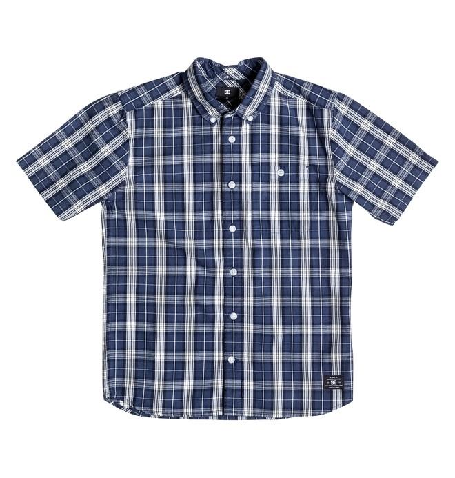 0 Boy's Atura Short Sleeve Shirt  EDBWT03010 DC Shoes