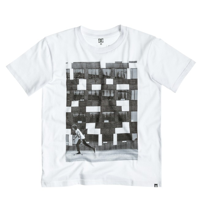 0 Pushing Thaynan Short Sleeve Boy  EDBZT03065 DC Shoes