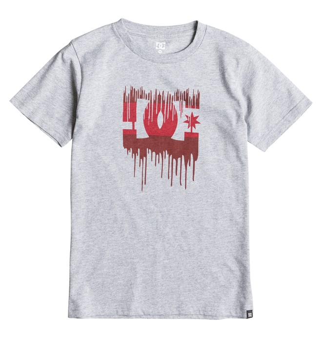 0 Boy's 8-16 Melting Tee  EDBZT03129 DC Shoes