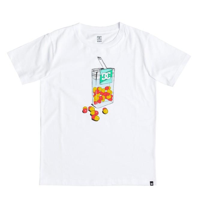 0 Shred Mint - T-Shirt White EDBZT03137 DC Shoes