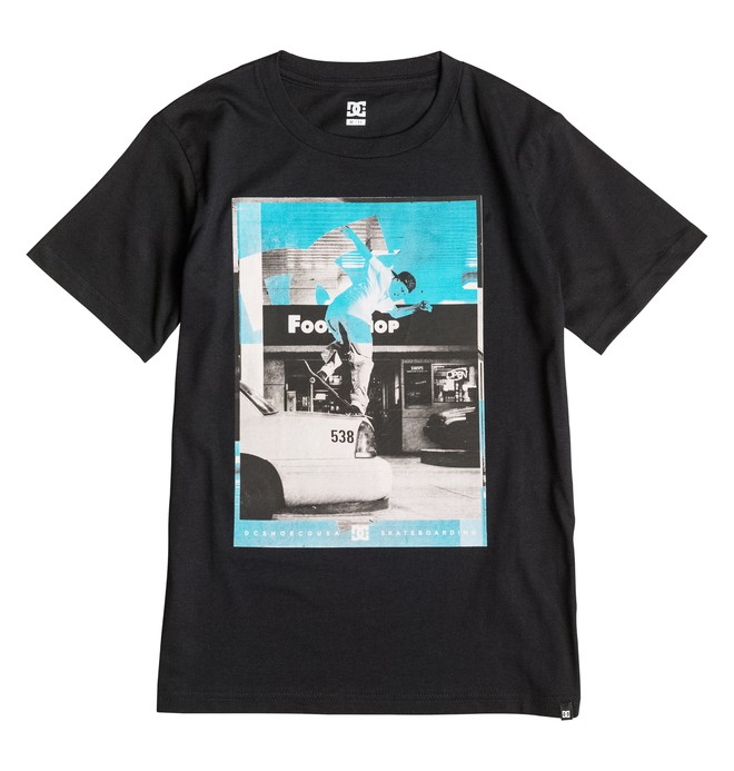 0 Kaliscab - T-Shirt Black EDBZT03150 DC Shoes