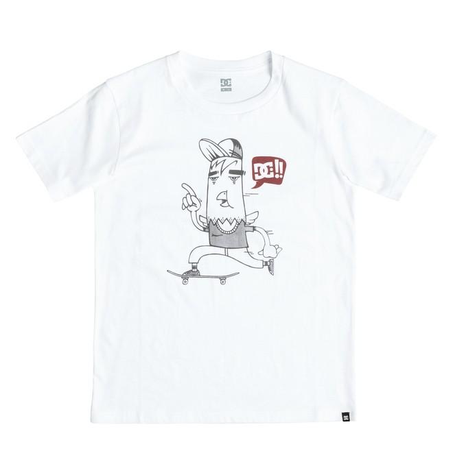 0 Pigeon Roll - T-Shirt White EDBZT03160 DC Shoes