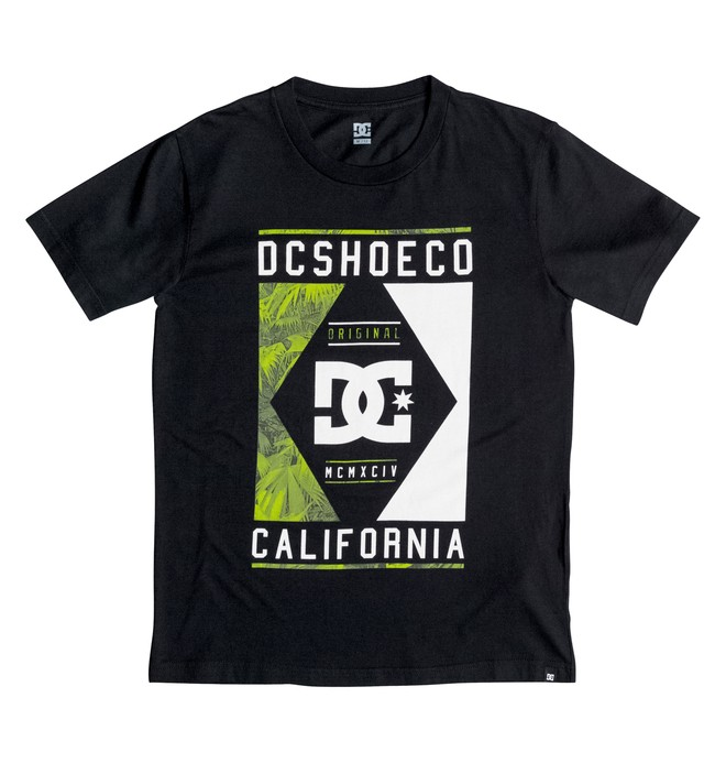 0 Wanderer - T-Shirt Black EDBZT03172 DC Shoes