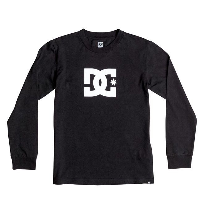 0 Star - Long Sleeve T-Shirt Black EDBZT03177 DC Shoes