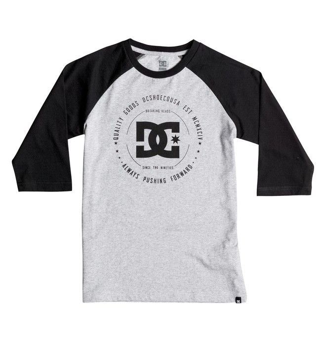 0 Rebuilt Raglan - T-Shirt Grey EDBZT03180 DC Shoes