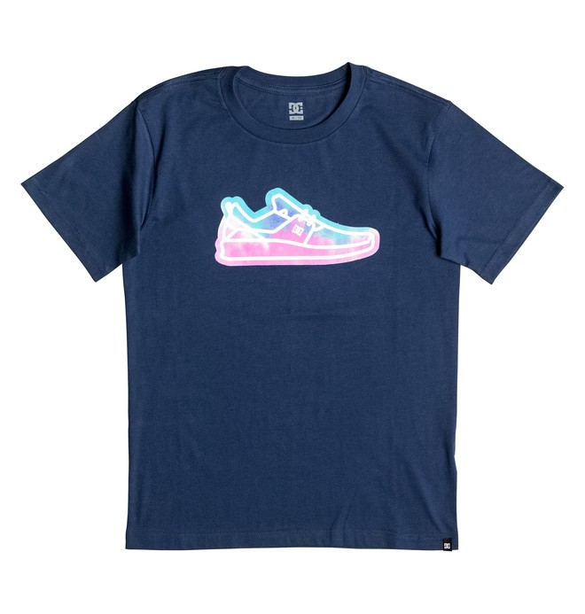 0 Funrow - T-Shirt Blue EDBZT03193 DC Shoes