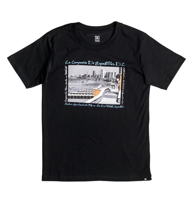 0 Madars Argentina - T-Shirt Black EDBZT03214 DC Shoes