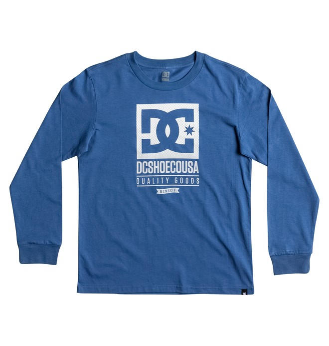 0 Keep Rolling - Long Sleeve T-Shirt Blue EDBZT03233 DC Shoes