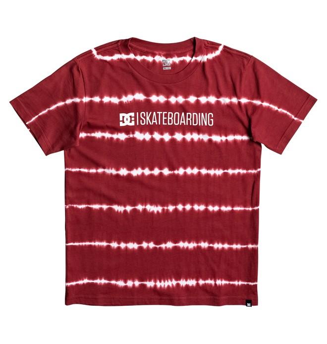 "0 Minimal 17"" - T-Shirt Red EDBZT03235 DC Shoes"