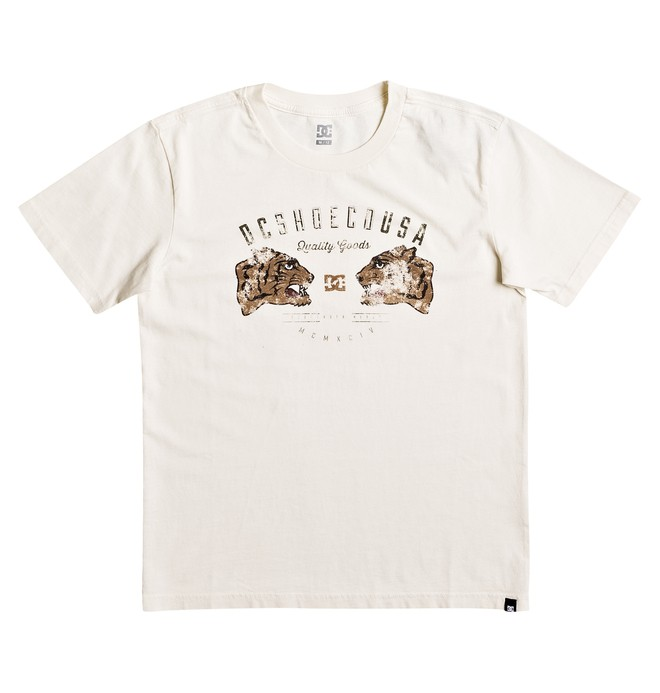 0 Surrender Never - Tee-Shirt Blanc EDBZT03242 DC Shoes