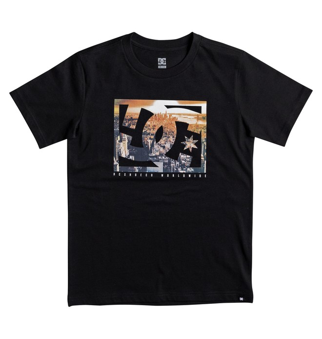 0 Empire Henge - T-Shirt Black EDBZT03266 DC Shoes