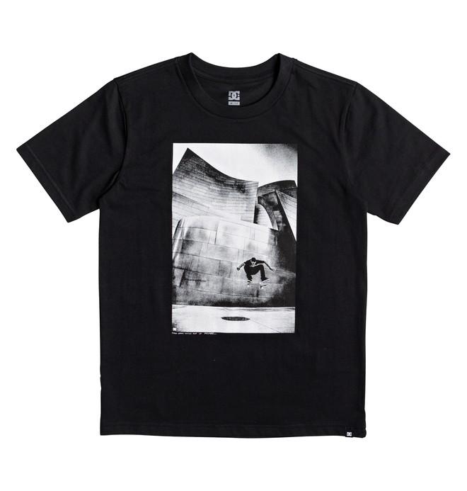 0 Tiago Switch Flip - T Shirt col rond Noir EDBZT03269 DC Shoes
