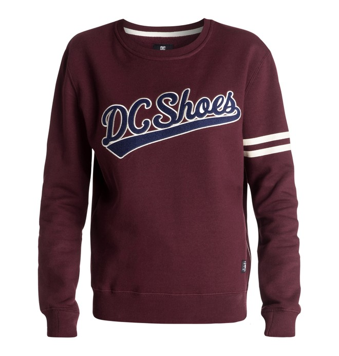 0 Madibrent - Crew-Neck Sweatshirt  EDJFT03021 DC Shoes