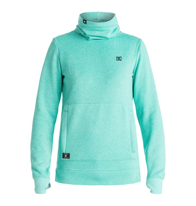 0 Veneer - Riding Sweatshirt Blue EDJFT03034 DC Shoes