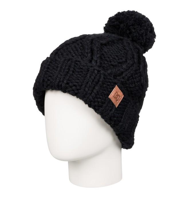 0 Tayce - Bobble Hat Black EDJHA03013 DC Shoes
