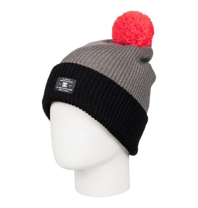 0 Trilogy - Bobble Hat Black EDJHA03018 DC Shoes