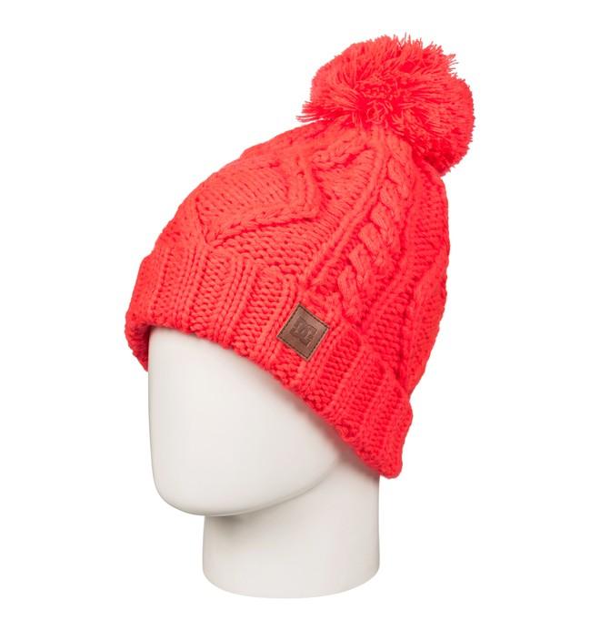 0 Women's Tayce Bobble Hat Pink EDJHA03024 DC Shoes