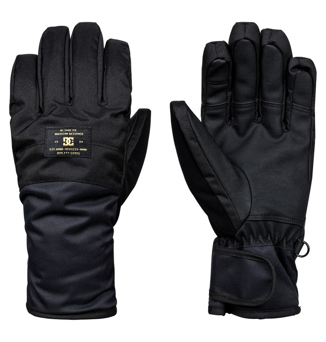 0 Franchise - Gants de snowboard/ski Noir EDJHN03010 DC Shoes