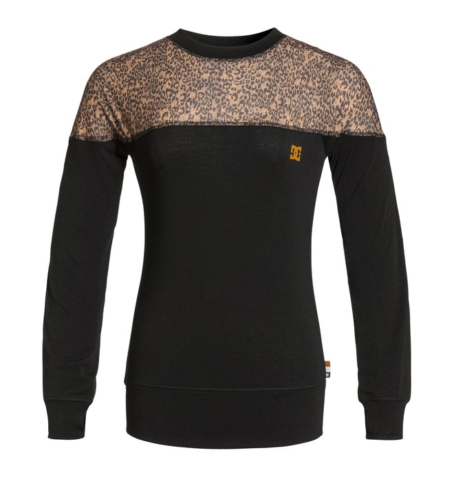 0 Women's Galena Long Sleeve Base-Layer Top  EDJLW03000 DC Shoes