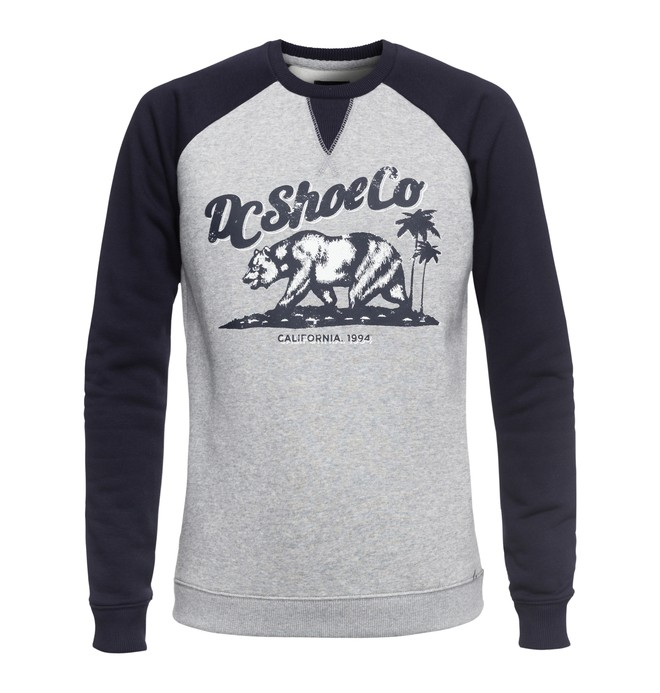 0 Bear And Palms Raglan - Sweatshirt Schwarz EDJSF03015 DC Shoes