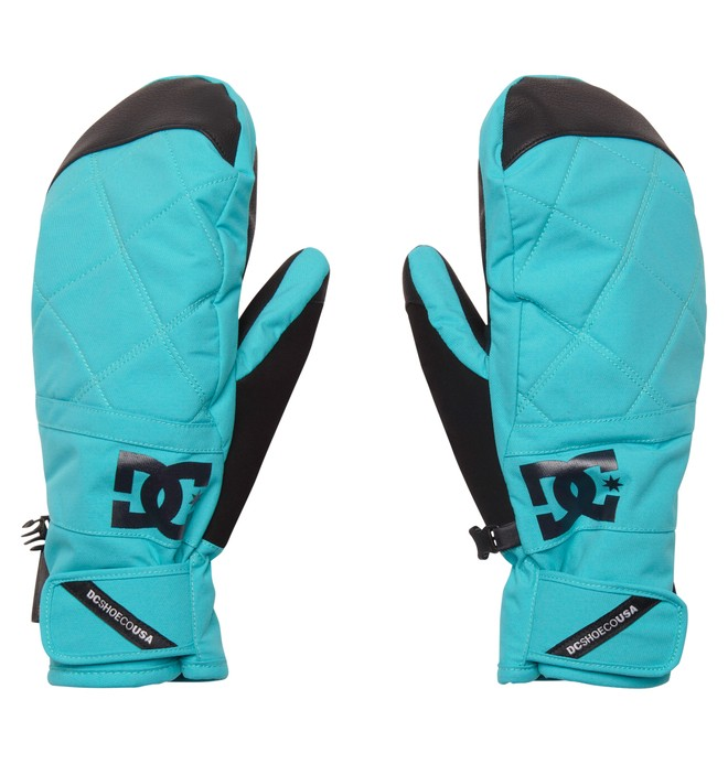 0 Women's Seger Mitt W 15 Gloves Blue EDJTH00002 DC Shoes