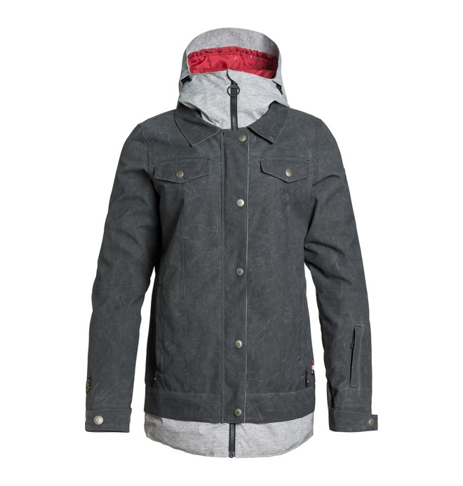 0 Women's Downtown Snow Jacket  EDJTJ03003 DC Shoes