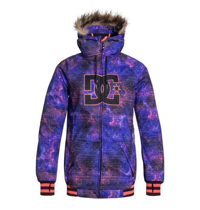 0 Women's Brooklyn Snowboard Jacket Blue EDJTJ03010 DC Shoes