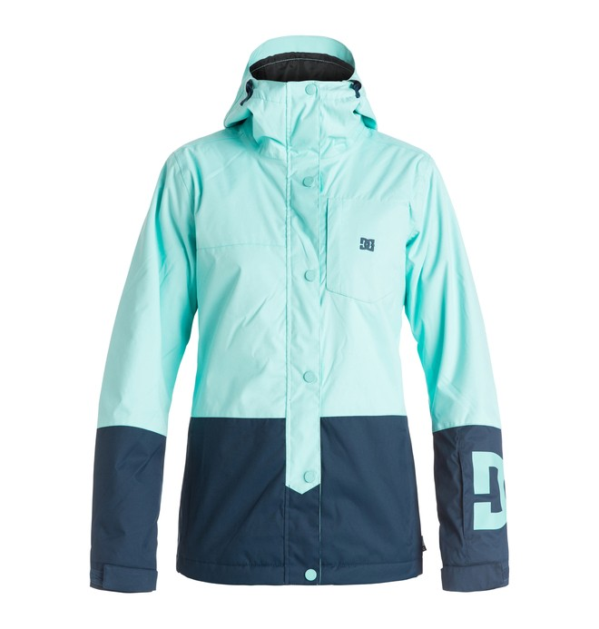 0 Defy - Snow Jacket Blue EDJTJ03014 DC Shoes