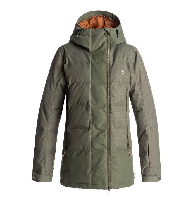 0 Liberty - Snow Jacket Green EDJTJ03023 DC Shoes