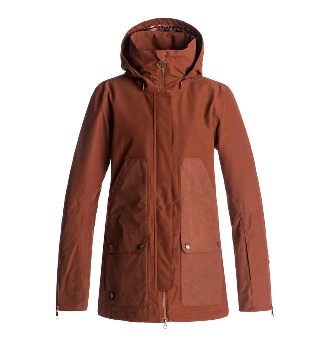 0 Panoramic - Snow Jacket Red EDJTJ03024 DC Shoes