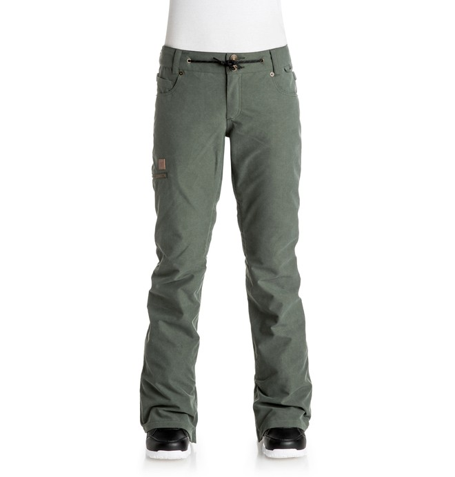 0 Viva - Snow Pants Green EDJTP03008 DC Shoes